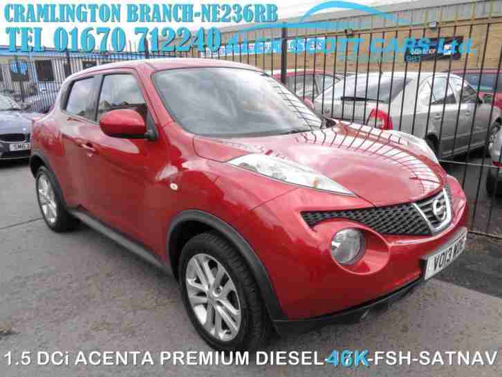2013 13 Nissan Juke 1.5dCi ( 110ps ) Acenta Premium for sale in AYRSHIRE