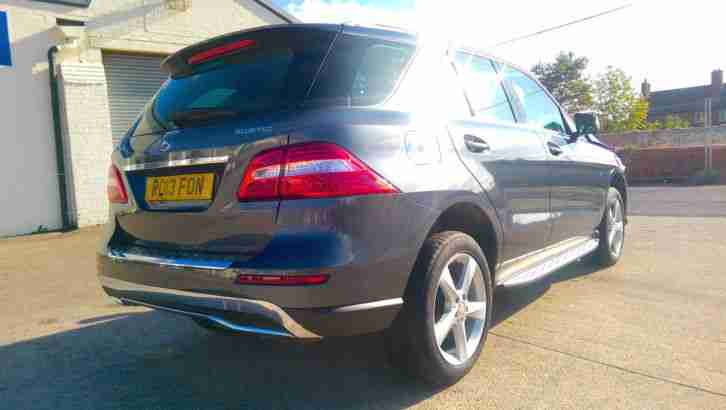 2013 13 REG MERCEDES BENZ M-CLASS ML350 W166 3.0TDi DAMAGED REPAIRABLE SALVAGE