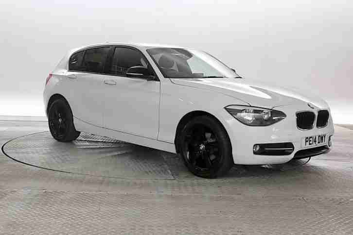 2013 (13 Reg) BMW 114D 1.6 Sport White 5 STANDARD DIESEL MANUAL
