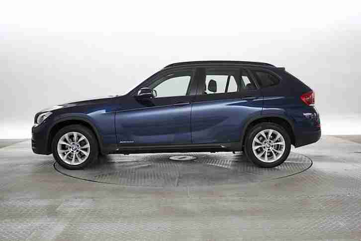 2013 (13 Reg) BMW X1 2.0 xDrive20 Sport Deep Sea Blue DIESEL MANUAL