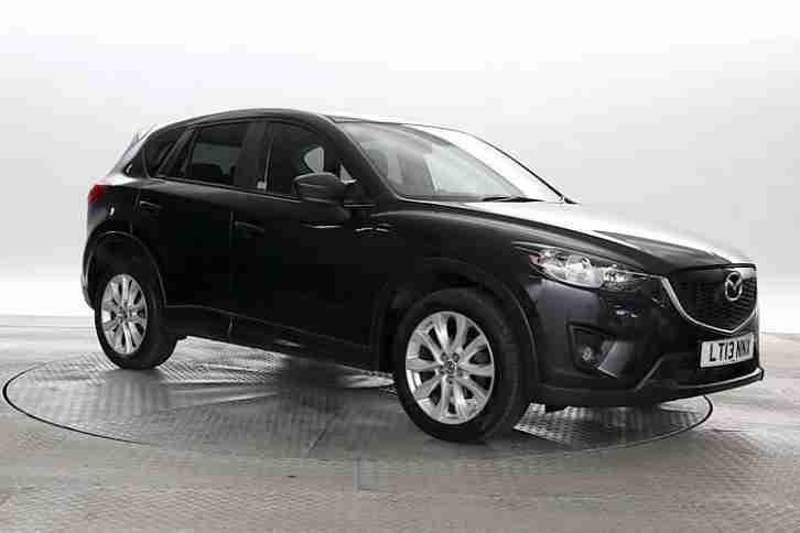 mazda 2013 13 reg cx 5 2 2 d sport met black diesel. Black Bedroom Furniture Sets. Home Design Ideas