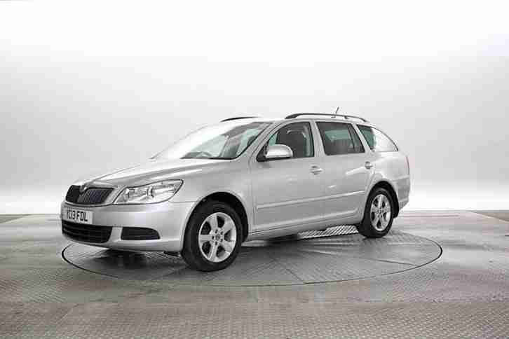 skoda 2013 13 reg octavia 2 0 tdi 140 se silver estate diesel. Black Bedroom Furniture Sets. Home Design Ideas