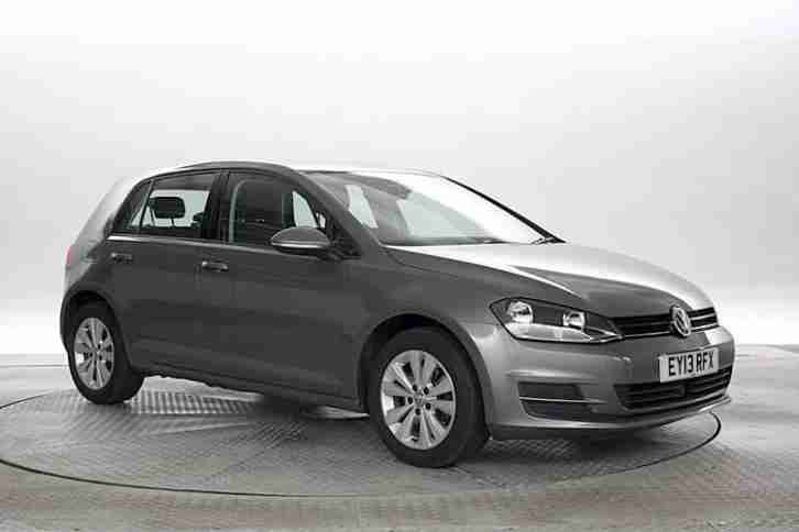 volkswagen 2013 13 reg golf 1 6 tdi se mk7 urano grey 5 standard. Black Bedroom Furniture Sets. Home Design Ideas