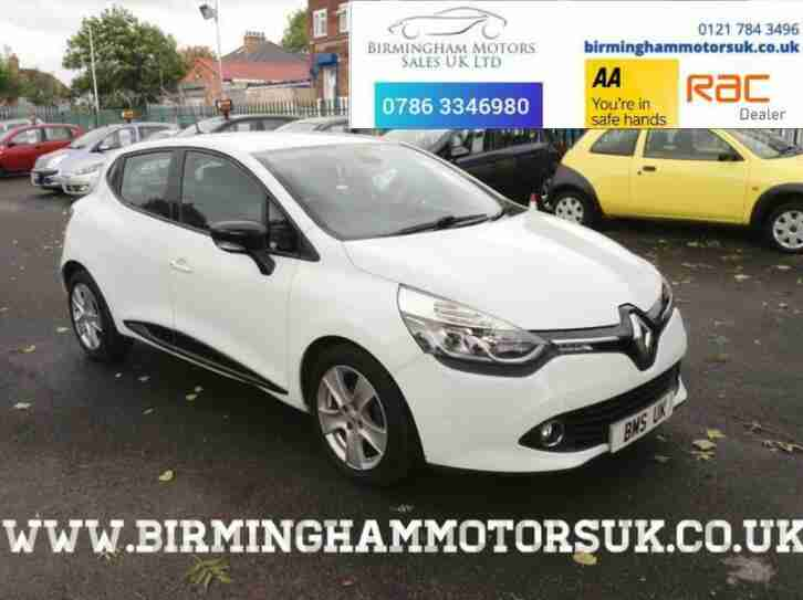 2013 13 Renault Clio 1.5 DYNAMIQUE MEDIANAV ENERGY DCI S S 5DR Hatchback WHITE