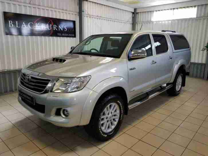 2013 13 HI LUX 3.0 INVINCIBLE 4X4 D 4D