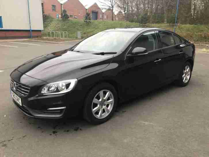 2013 13 VOLVO S60 BUSINESS EDITION D3 BLACK, Sat Nav, Climate Control, DHB Radio