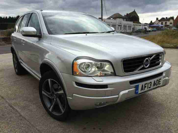 2013 13REG VOLVO XC90 PLUS 2.4 D5 R-DESIGN 4X4 AUTOMATIC DIESEL DAMAGED SALVAGE