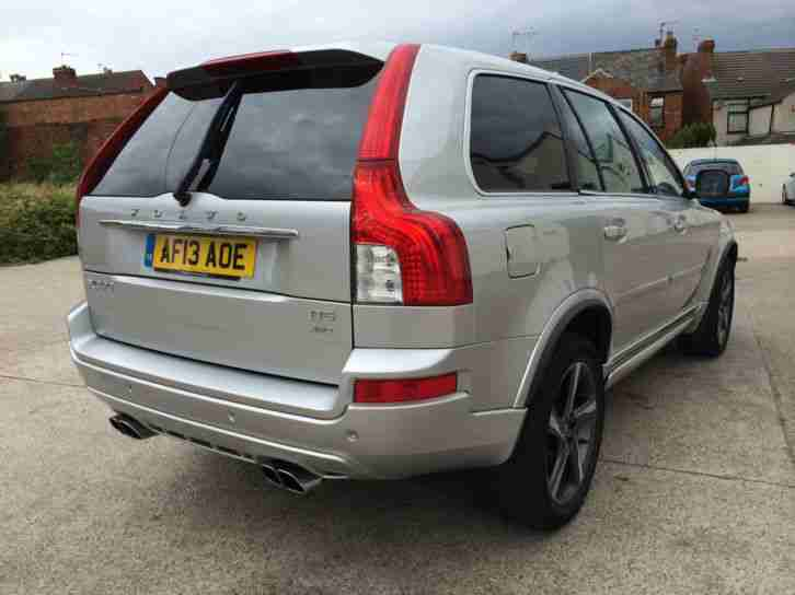 2013 13REG VOLVO XC90 PLUS 2.4 D5 R-DESIGN AUTOMATIC DIESEL 4X4 TOP OF THE RANGE