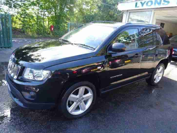 2013 62 JEEP COMPASS 2.1 CRD LIMITED 4WD 5D 161 BHP DIESEL