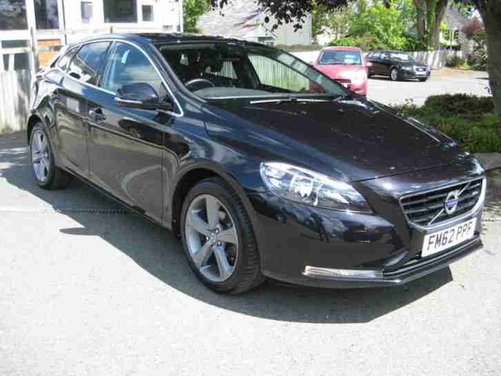 2013/62 Volvo V40 1.6 D2 SE 5dr (start/stop) LEATHER~FDSH~1 OWNER.