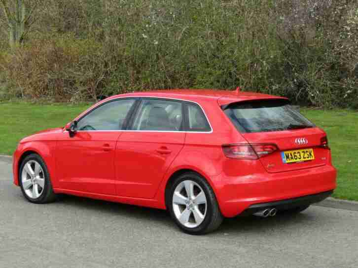 2013 63 Audi A3 2.0TDI Sport Manual 6 Speed Sportback 5 Door Diesel Hatchback
