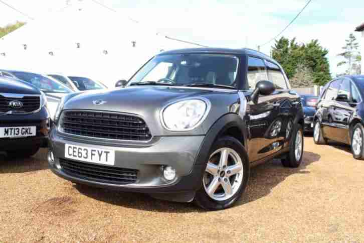 2013 63 MINI COUNTRYMAN 1.6 ONE D 5D 90 BHP DIESEL RAC DEALER