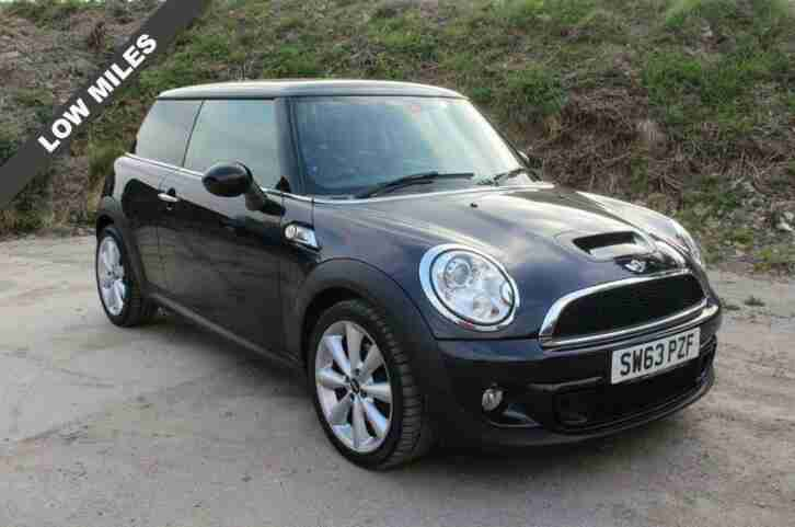 2013 63 MINI HATCH COOPER 1.6 COOPER S 3D 184 BHP (CHILLI PACK)