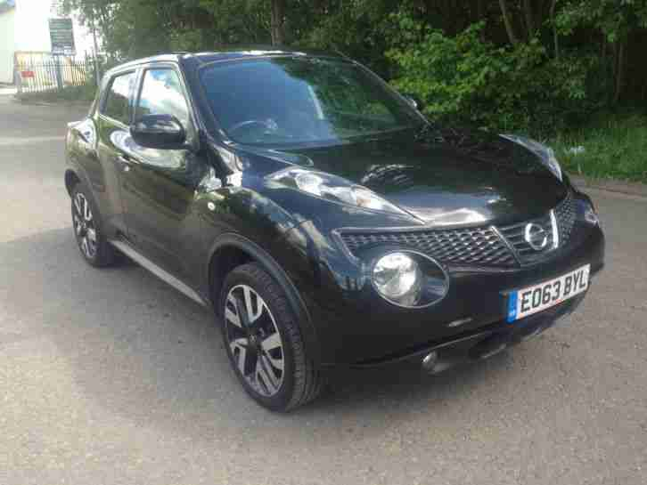 2013 (63) JUKE BLACK SPECIAL EDITIONS