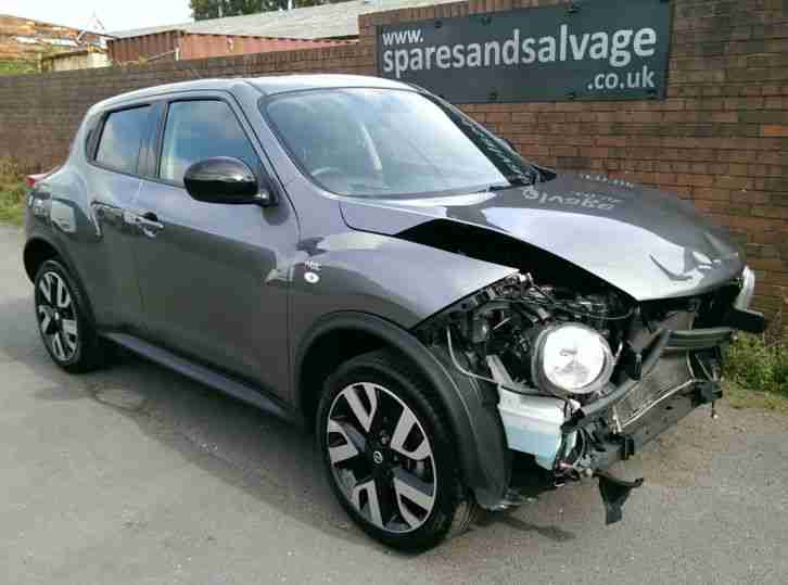 2013 *63* Nissan Juke 1.6 N-Tec NAV 8K Damaged Salvage Drives