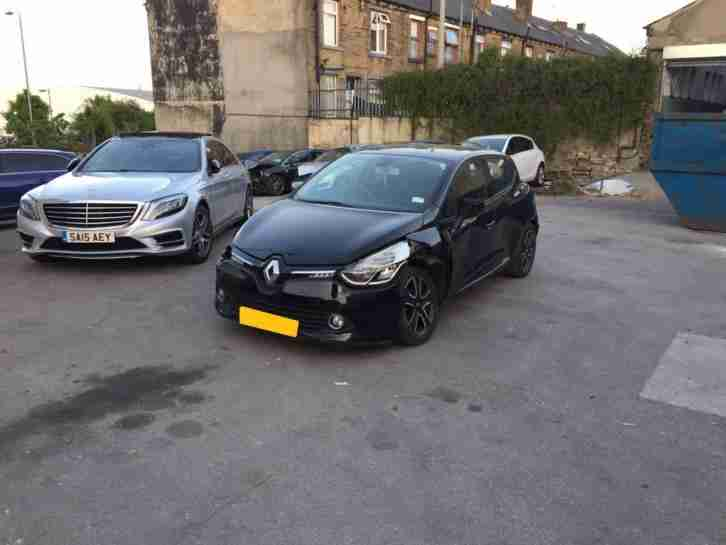 T And T Repairables >> Renault 2013 63 Clio D Que M Nav Energy T Damaged