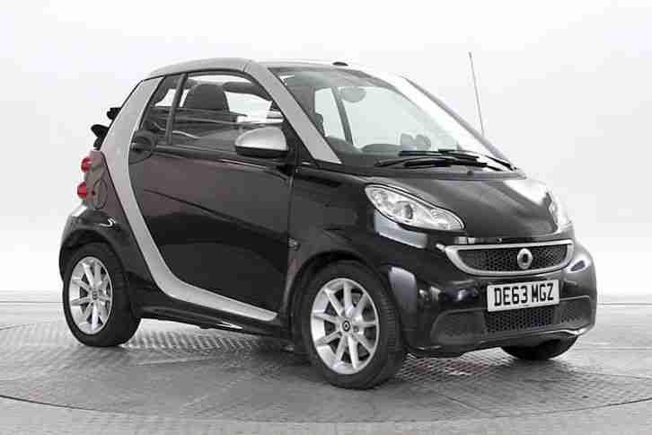 smart 2013 63 reg fortwo 1 0 passion car for sale. Black Bedroom Furniture Sets. Home Design Ideas