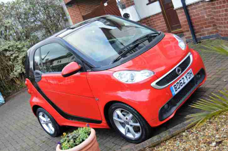2013 (63 Reg) Smart Fortwo 1.0 Passion Deep Black COUPE PETROL AUTOMATIC