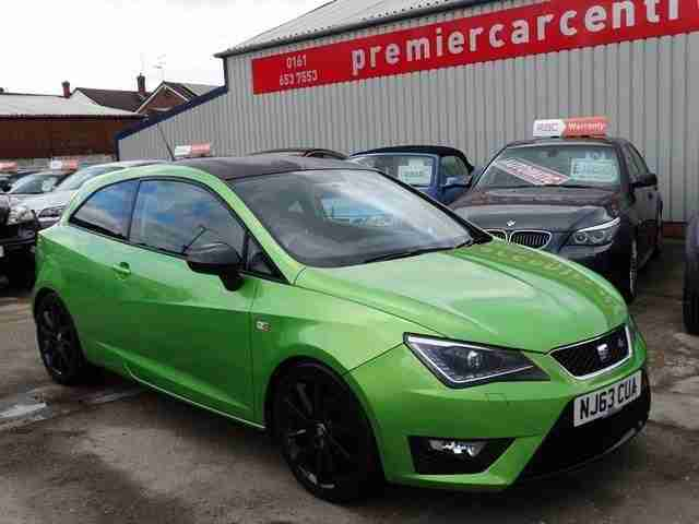 seat 2013 63 ibiza 1 2 tsi fr 3d 104 bhp car for sale. Black Bedroom Furniture Sets. Home Design Ideas