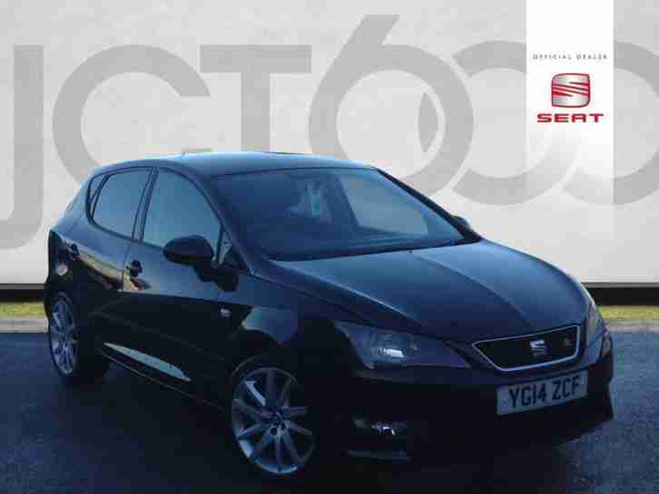 seat 2013 63 ibiza 1 2 tsi fr 105ps sportcoupe 20 000 miles white. Black Bedroom Furniture Sets. Home Design Ideas