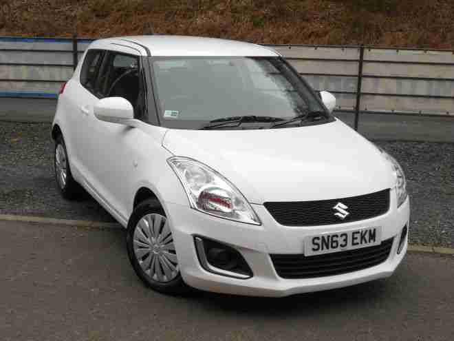 2013/63 Suzuki Swift 1.2 SZ2 3 Door White