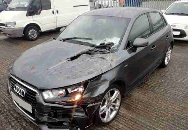 Audi 2013 A1 1 6 Tdi S Line 5door Hatchback Light Damaged