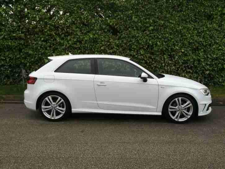 Audi 2013 A3 S Line Tdi White Car For Sale
