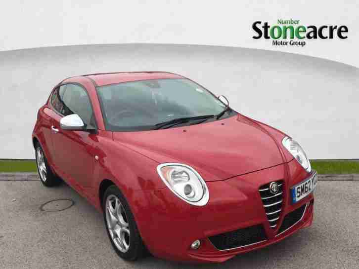 2013 Alfa Romeo Mito 0.9 TwinAir 8v Distinctive Hatchback 3dr Petrol Manual