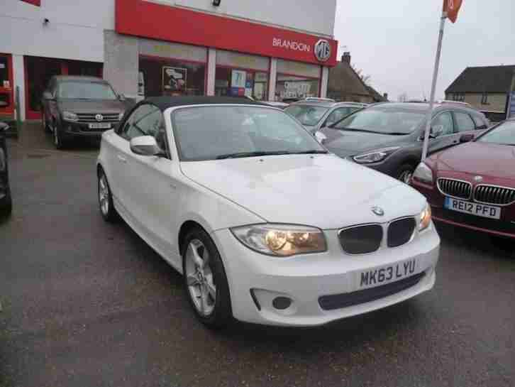 2013 BMW 1 SERIES 120D Exclusive Edition