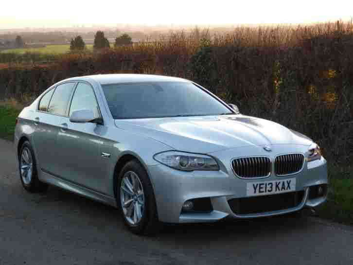BMW 520D. BMW car from United Kingdom