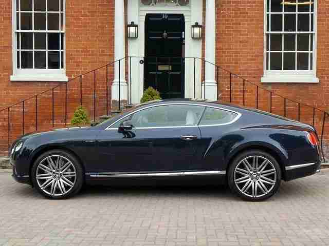 2013 Bentley Continental GT SPEED Petrol Blue Automatic