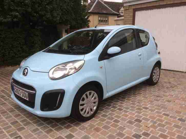 2013 Citroen C1 VTR 1 Owner Full History MOT Zero Rate Road Tax 74 MPG