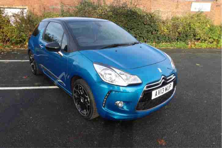 citroen 2013 ds3 1 6 vti 120hp dstyle plus petrol manual car for sale. Black Bedroom Furniture Sets. Home Design Ideas