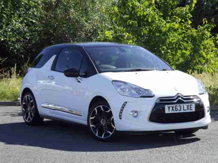 2013 DS3 DSTYLE PLUS Petrol white