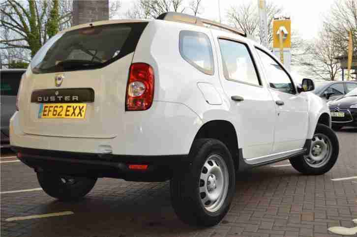 2013 Dacia Duster ACCESS Petrol white Manual