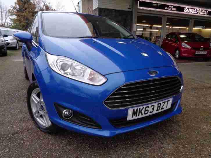 Ford 2013 FIESTA ZETEC 1.25 10000 MILES HATCHBACK PETROL. car for sale