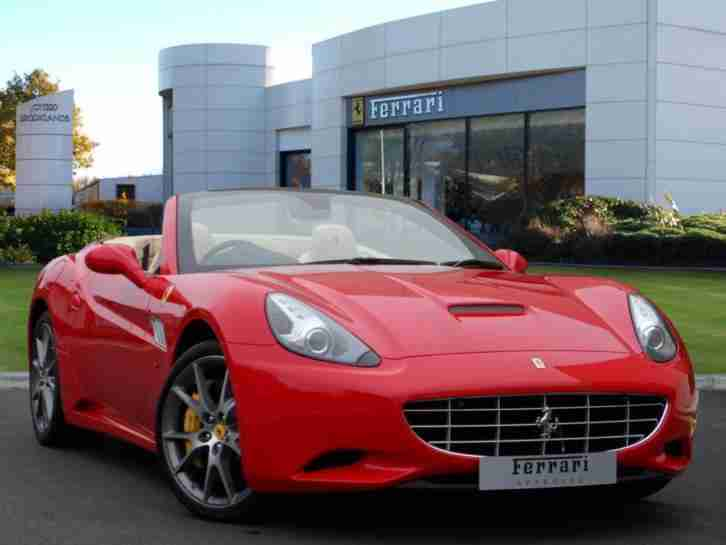 Ferrari California. Ferrari car from United Kingdom