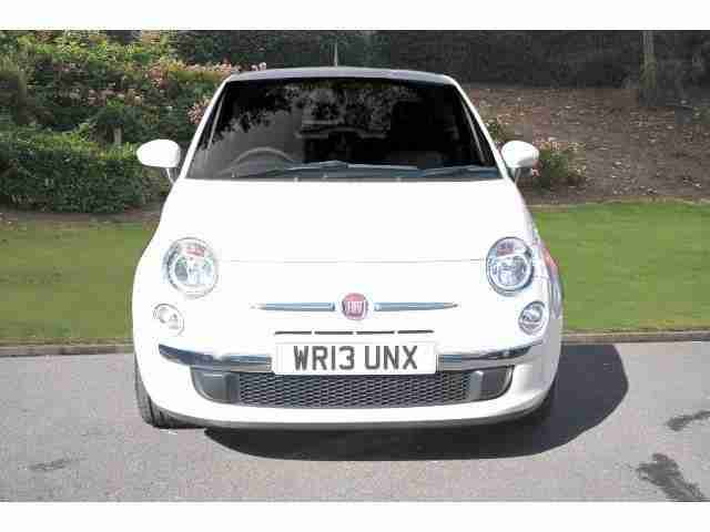 2013 Fiat 500 1.2 Lounge 3Dr [start Stop] Petrol Hatchback