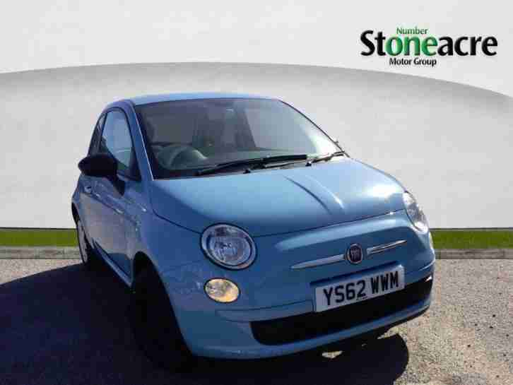 2013 Fiat 500 1.2 Pop Hatchback 3dr Petrol Manual (start stop) (113 g km,