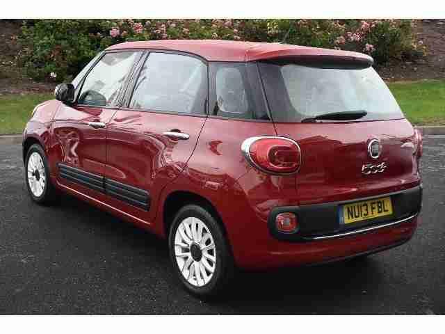 fiat 2013 500l 1 4 easy 5dr petrol hatchback car for sale. Black Bedroom Furniture Sets. Home Design Ideas