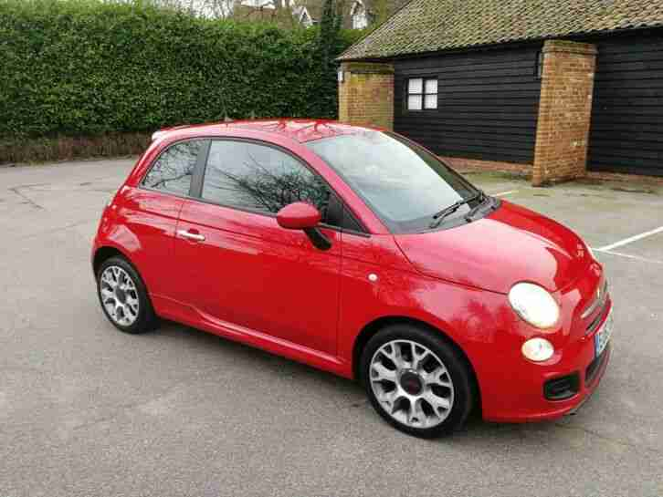 2013 Fiat 500s TwinAir Full Service History One Owner From New