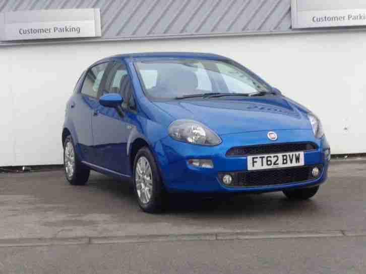 Fiat 2013 Punto 1 2 No S S Easy 5dr Car For Sale