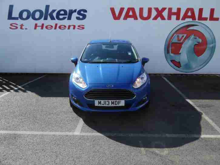 2013 Ford Fiesta 1.25 82 Zetec 5dr Petrol blue Manual