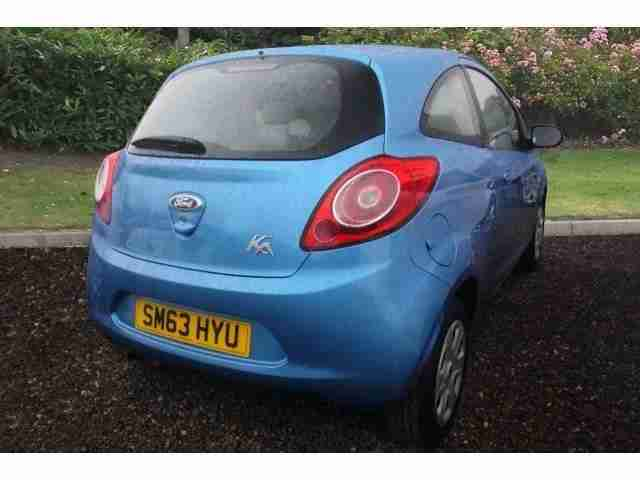 2013 Ford Ka 1.2 Edge 3Dr [start Stop] Petrol Hatchback