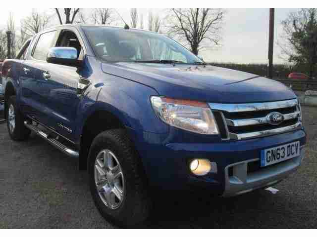 ford 2013 ranger 3 2 tdci limited double cab 4x4 4dr car for sale. Black Bedroom Furniture Sets. Home Design Ideas