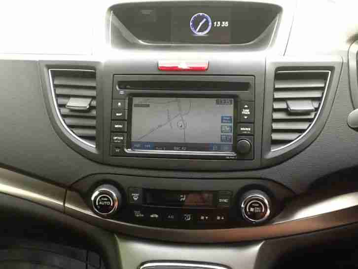 honda crv sat nav instruction manual