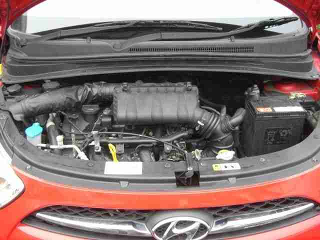 2013 HYUNDAI I10 CLASSIC Damaged repairable Cat C