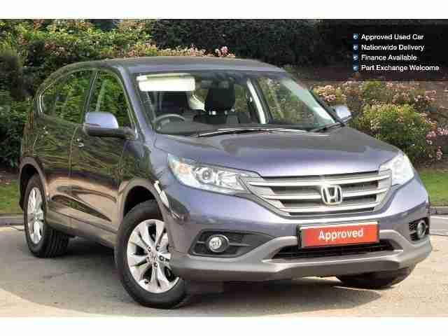 Honda 2013 Cr V 1 6 I Dtec Se T 5dr 2wd Diesel Estate Car
