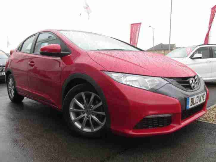 Honda 2013 civic 1 4 i vtec se 5dr manual petrol hatchback for Honda civic hatchback 2013