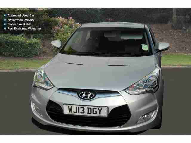 Hyundai Veloster. Hyundai car from United Kingdom